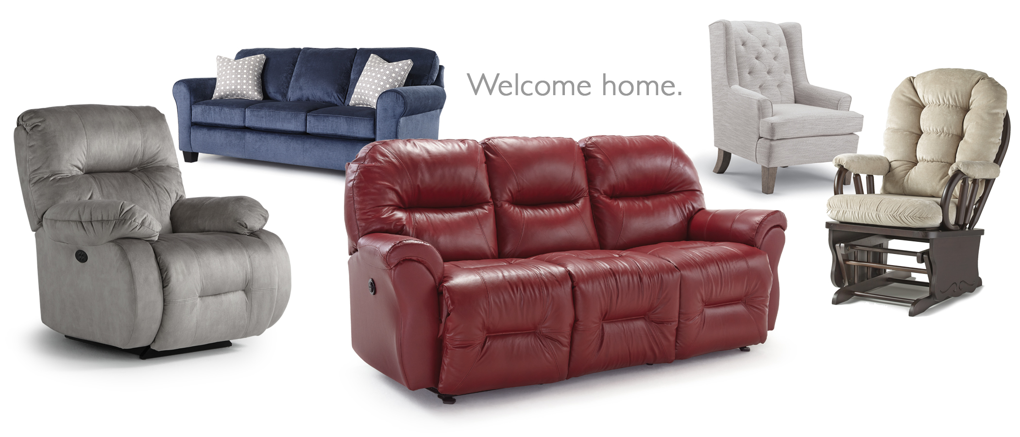 RECLINERS · STATIONARY SOFAS