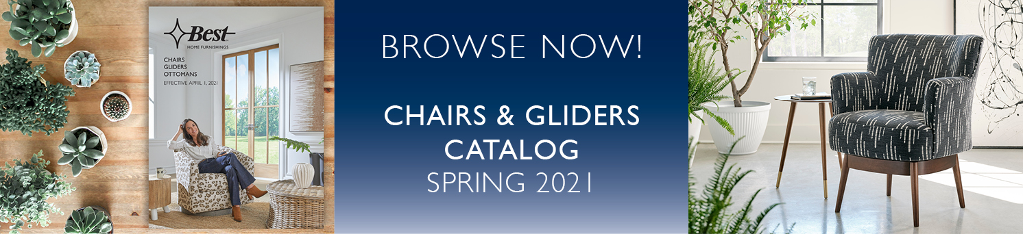 Chairs & Gliders Catalog Spring 2021