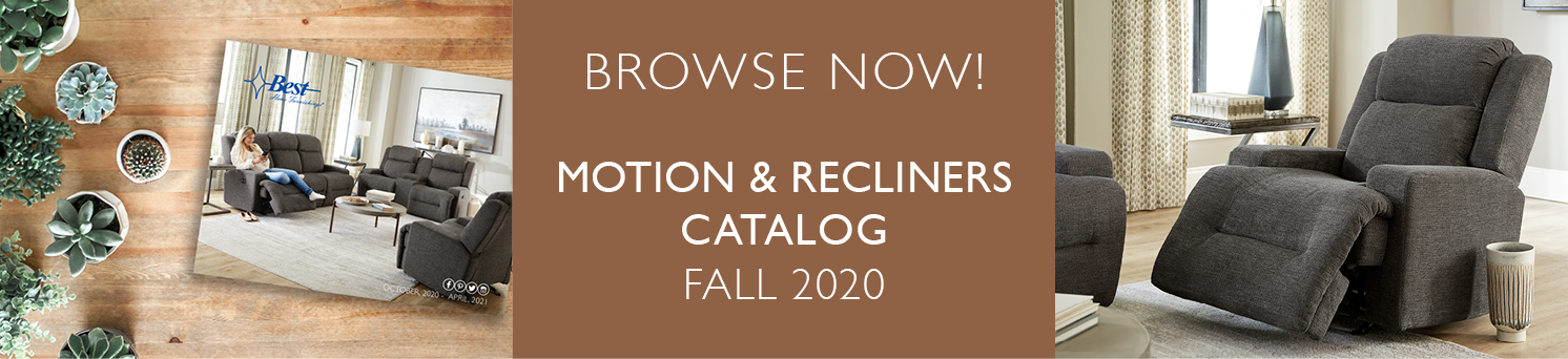 Motion & Recliners Catalog Fall 2020
