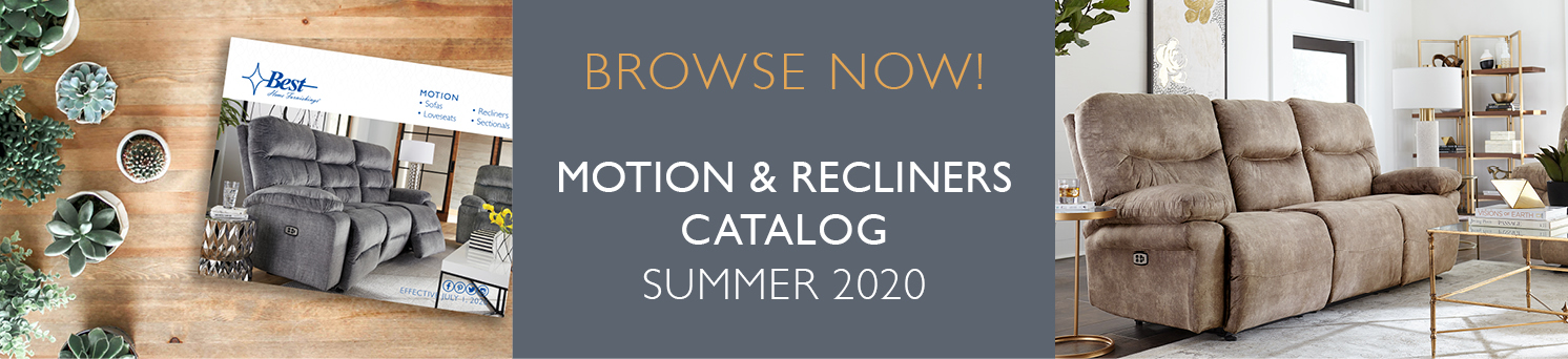 Motion & Recliners Catalog Summer 2020