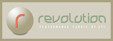 Revolution started with an idea to create true performance fabrics that are durable, cleanable, and soft to the touch. Revolution is made in the USA in Kings Mountain, NC from fiber to fabric.  They are upcycled fibers produced in an environmentally conscious manner.  Their resistance to fading makes Revolution a smart choice for rooms with exceptional sunlight. For more information on Revolution please see RevolutionFabrics.com