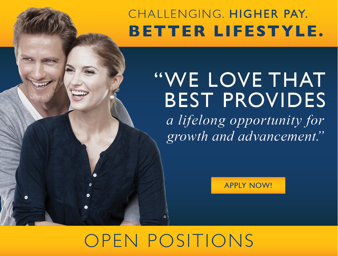We love that Best provides a lifelong opportunity for growth and advancement
