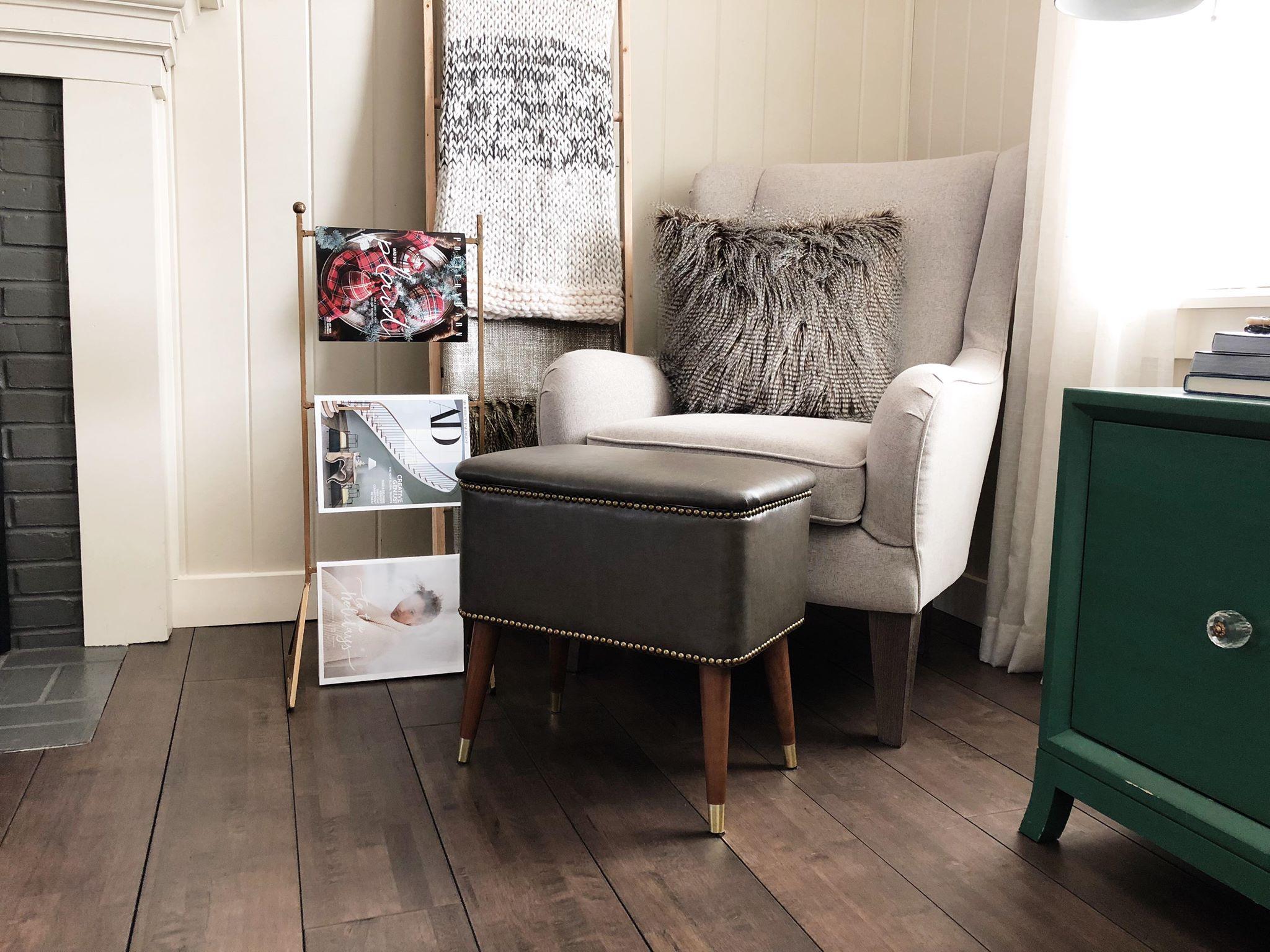 Lorette Wingback Chair, Kristen Ruhe.  A Prettier Place