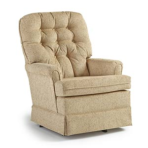Enjoyable Chairs Swivel Glide Joplin1 Best Home Furnishings Ocoug Best Dining Table And Chair Ideas Images Ocougorg