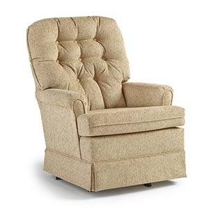 chairs swivel glide joplin1 best home furnishings. Black Bedroom Furniture Sets. Home Design Ideas