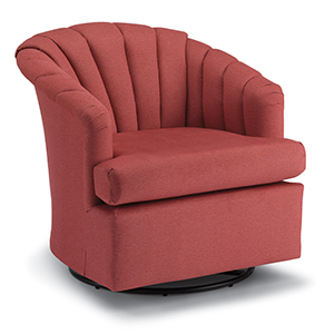 Chairs Swivel Barrel Elaine Best Home Furnishings