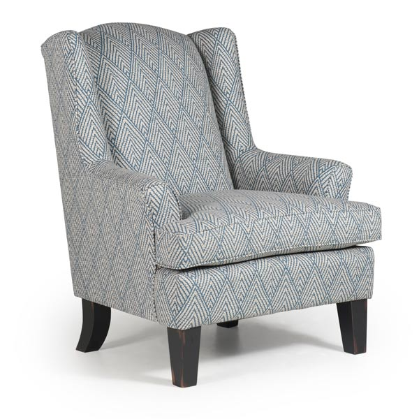 fabric wing back chairs chairs wing back andrea best home furnishings 15198 | 0170AB