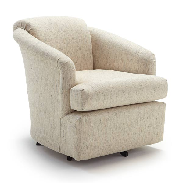 Chairs Swivel Barrel Cass Best Home Furnishings