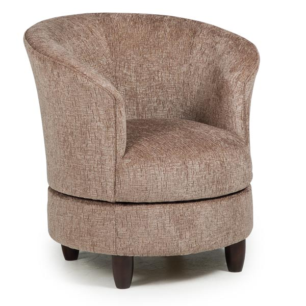 Chairs : Swivel Barrel : DYSIS : Best Home Furnishings