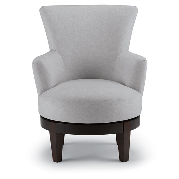 Excellent Chairs Swivel Barrel Justine Best Home Furnishings Inzonedesignstudio Interior Chair Design Inzonedesignstudiocom