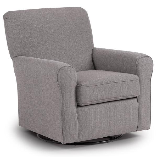 Chairs Swivel Glide Hagen Best Home Furnishings