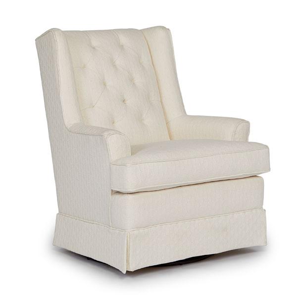 Chairs Swivel Glide Nikole Best Home Furnishings
