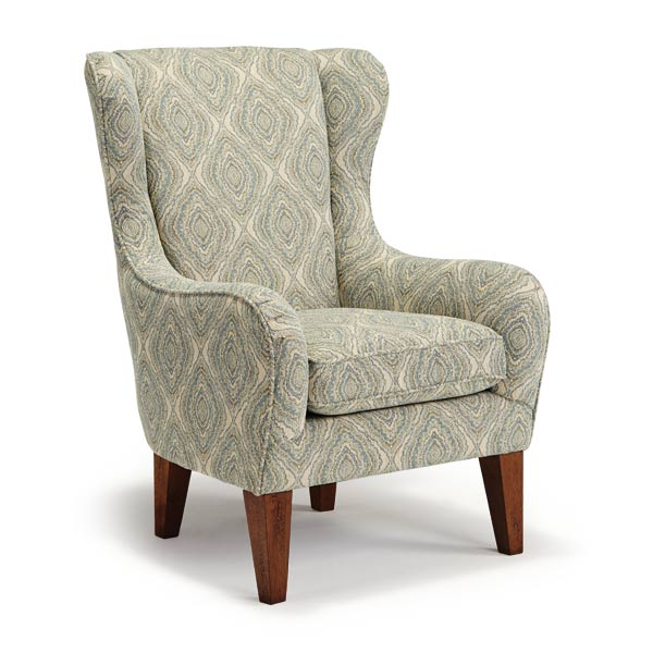 Chairs Wing Back Lorette Best Home Furnishings